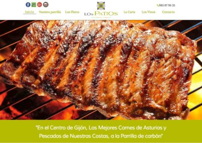 restauranteparrillalospatios.com