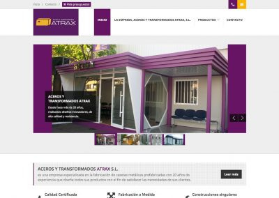 """<a href=""""http://www.acerostransformadosatrax.com/"""" target=""""_blank"""" class=""""link"""">www.acerostransformadosatrax.com</a>"""