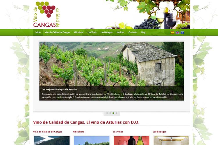 <span>www.vinosdeasturias.es</span> Web Corporativa