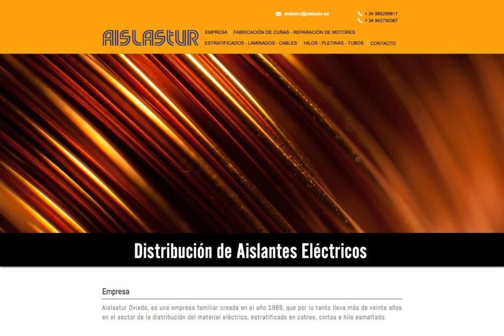<span>aislastur.es</span> Web corporativa