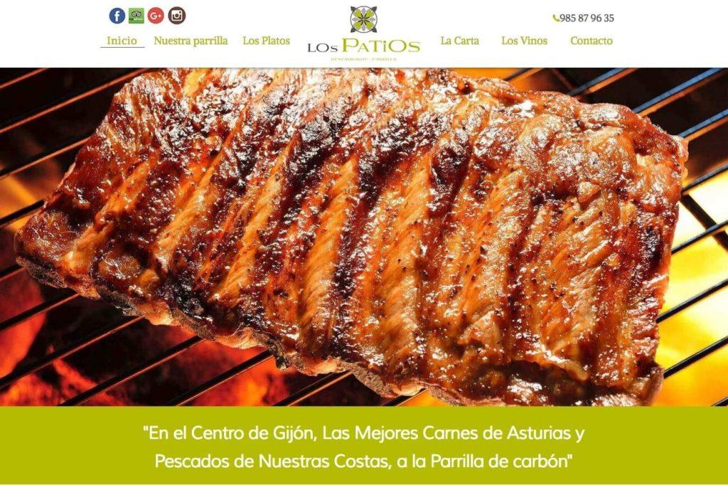<span>restauranteparrillalospatios.com</span> Web Restaurante