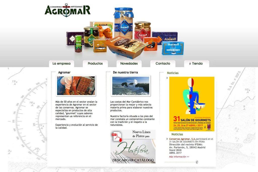 <span>conservasasturias.com</span> Web corporativa · Tienda online · Dos idiomas