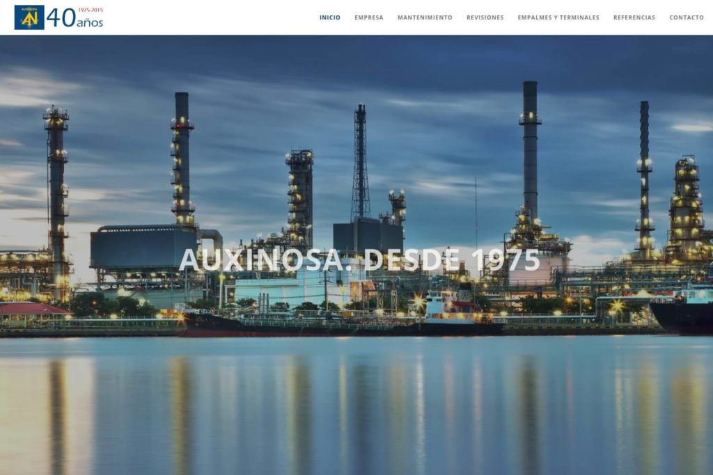 <span>www.auxinosa.com</span> Web corporativa