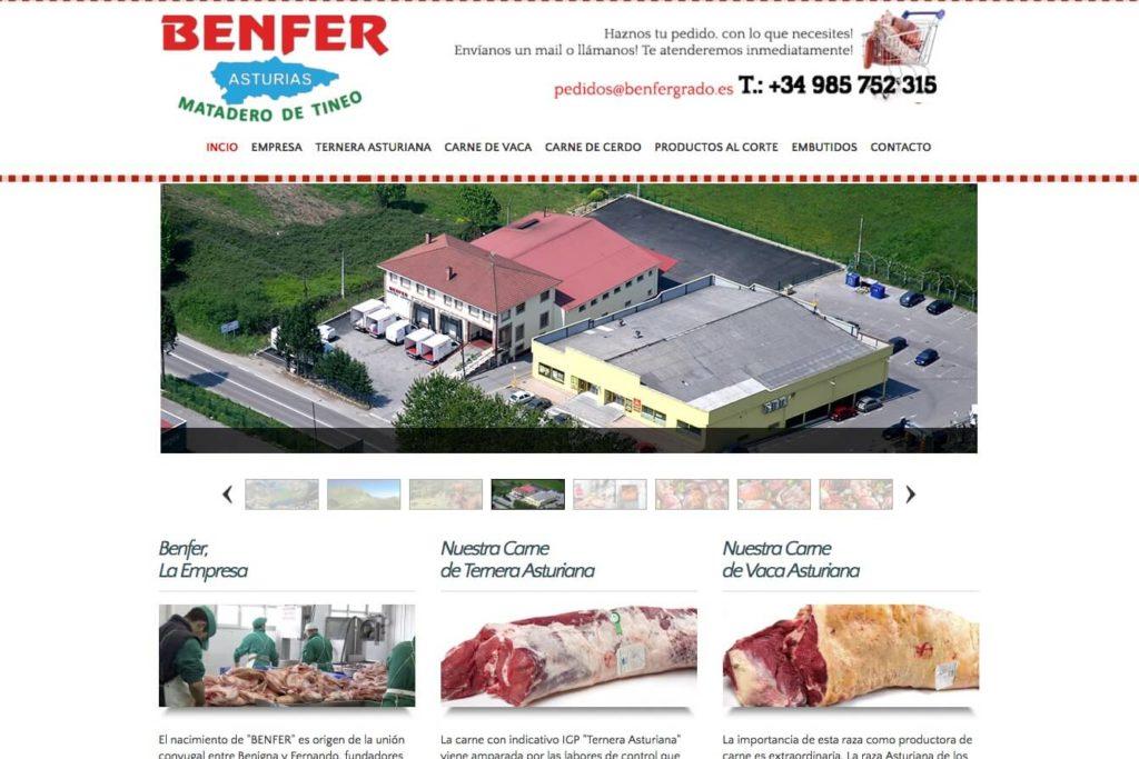 <span>www.benfergrado.es</span> Web corporativa