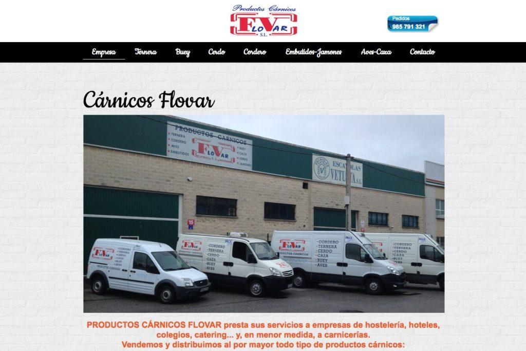 <span>www.carnicosflovar.es</span> Web corporativa