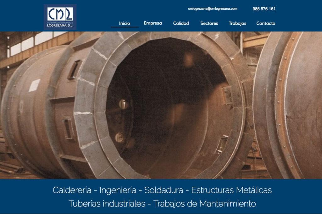 <span>www.cmlogrezana.com</span> Web corporativa