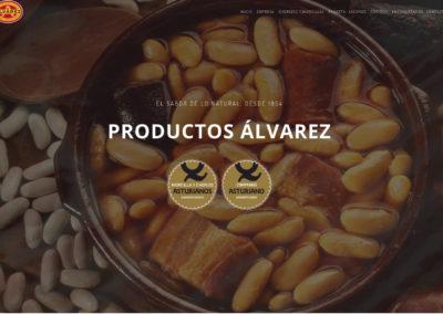 <span>www.productosalvarez.com</span> Web presentación de productos