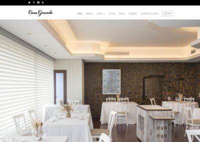 <span>www.restaurantecasagerardo.es</span> Web Corporativa · Motor de reservas