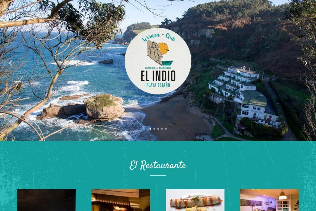 <span>www.restauranteelindioclub.com</span> Web Corporativa