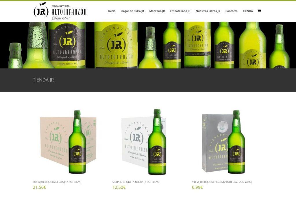 <span>www.sidrajr.es/tienda/</span> Tienda online