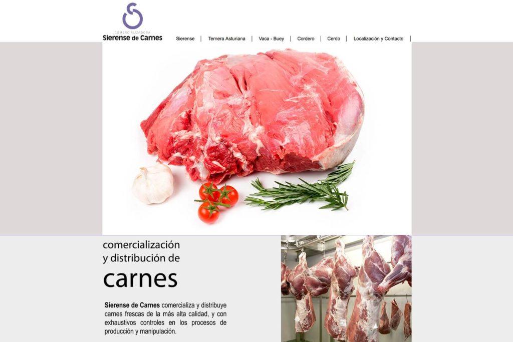 <span>www.sierensedecarnes.com</span> Web corporativa