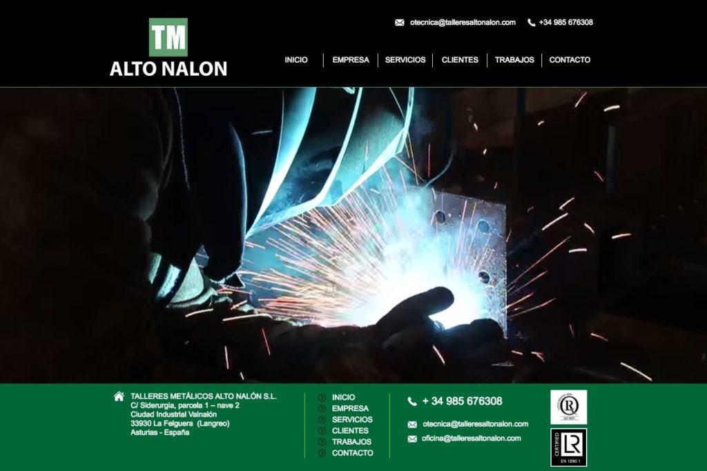 <span>www.talleresaltonalon.com</span> Web corporativa