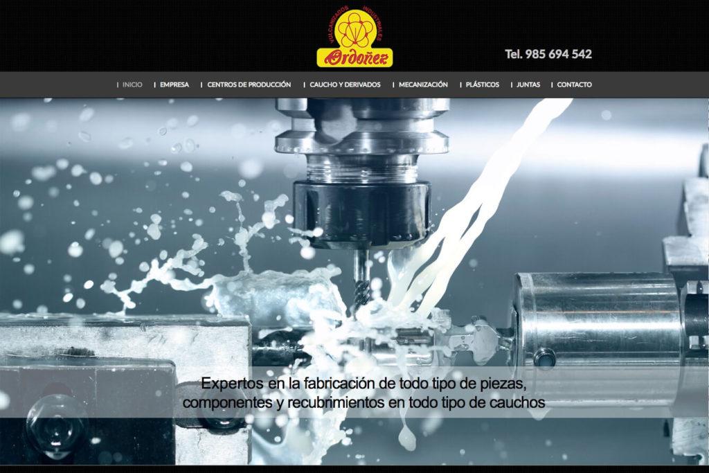 <span>www.vulcanizadosordonez.com</span> Web corporativa