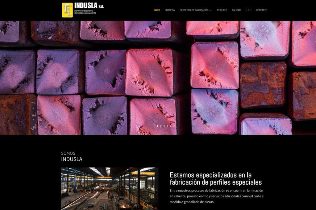 <span>www.indusla.com</span> Web corporativa