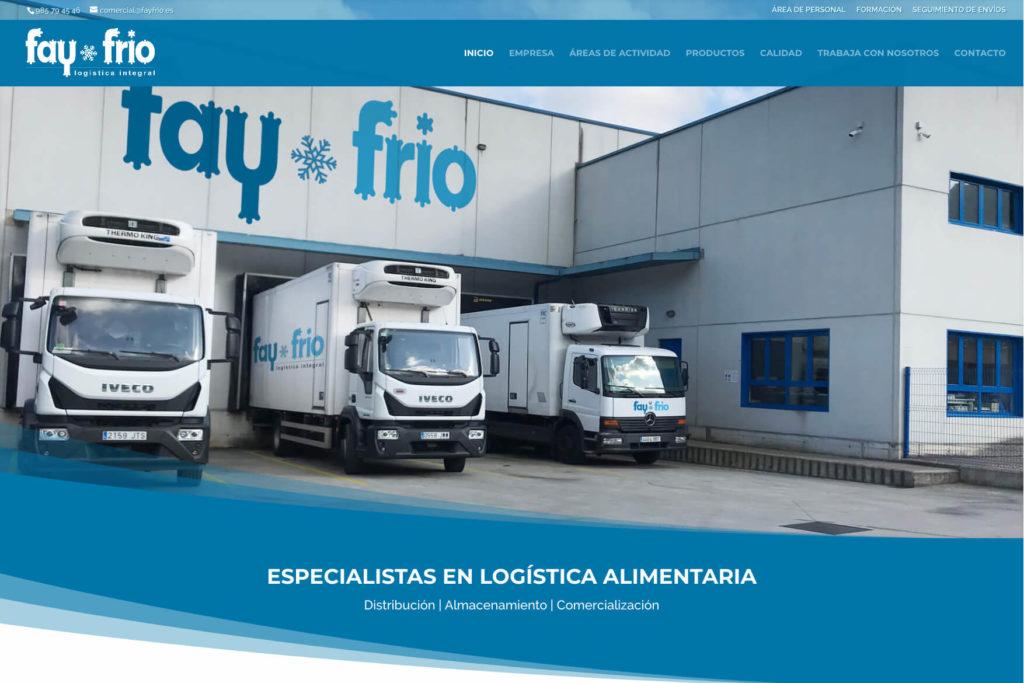 <span>fayfrio.es</span> Web Corporativa