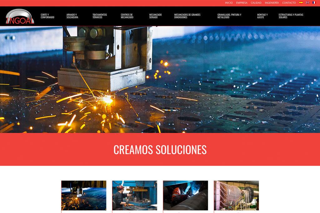 <span>www.ingoal.es</span> Web corporativa