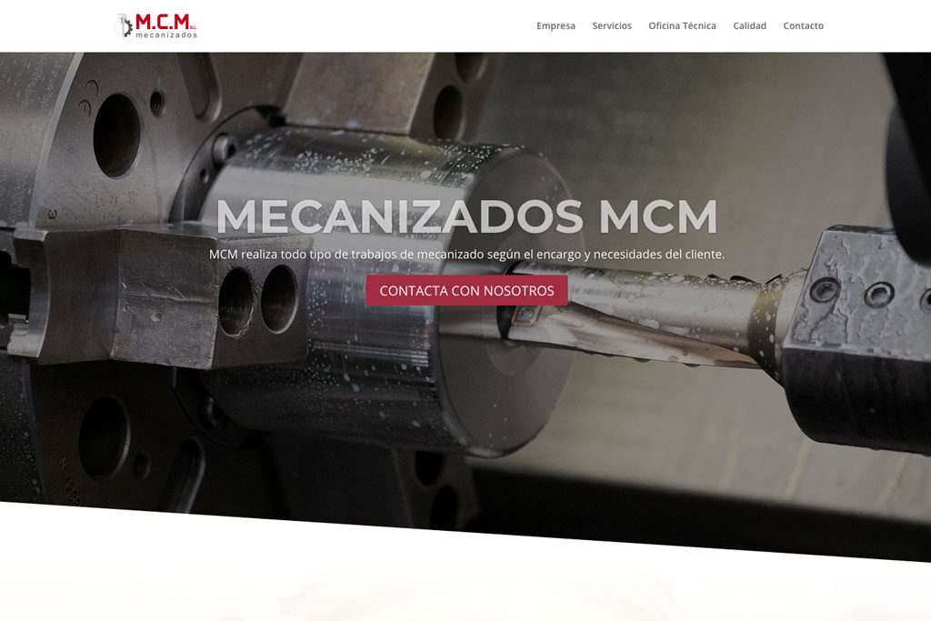 <span>www.mecanizadosmcm.es</span> Web corporativa