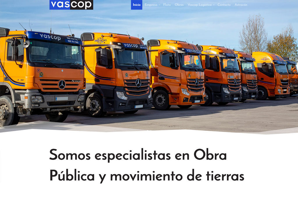 <span>www.vascop.es</span> Web Corporativa